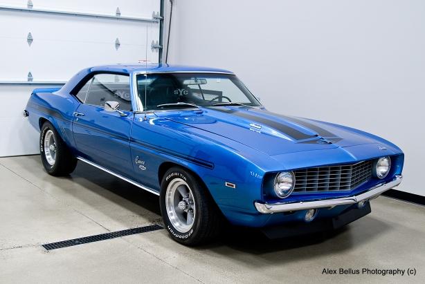 1969 Yenko Camaro - aka Blue