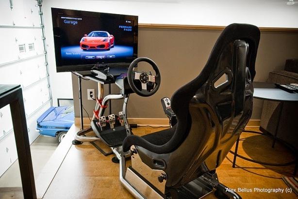 Virtual Racing Chair