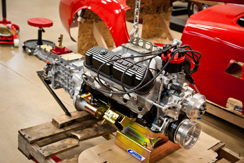 Factory Five Boss 347 Engine